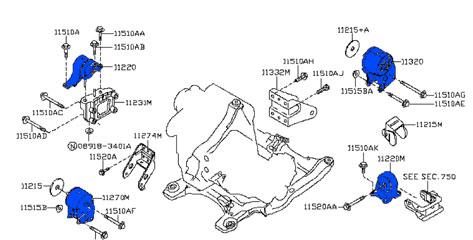 kit soportes de motor y transmisi u00d3n nissan altima 2 5 2002